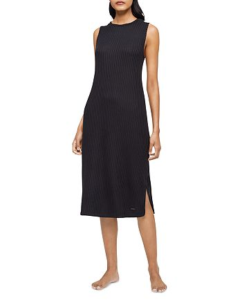 Calvin Klein - Ribbed Sleeveless Sleepshirt