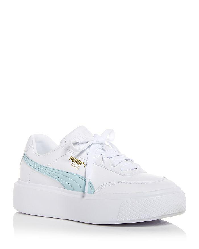 Puma Sneakers WOMEN'S OSLO MAJA LOW TOP PLATFORM SNEAKERS