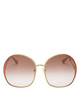 Chloé - Women's Round Sunglasses, 62mm