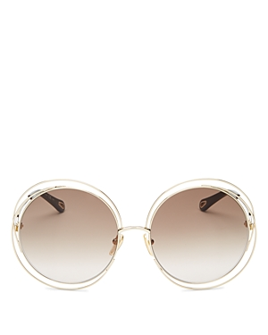 Chloé Sunglasses WOMEN'S ROUND SUNGLASSES, 62MM