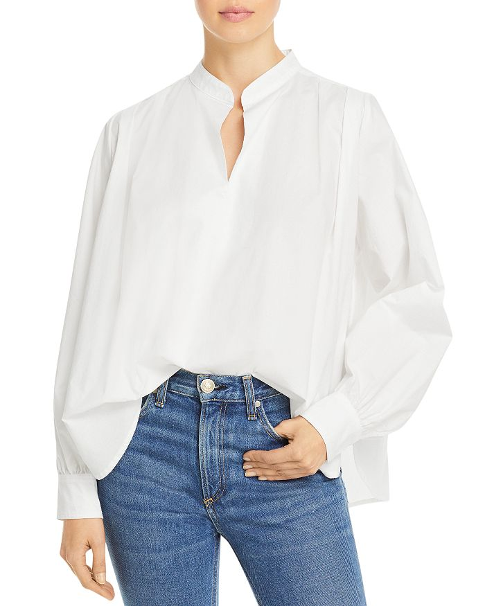 rag & bone - Carly Band Collar Top