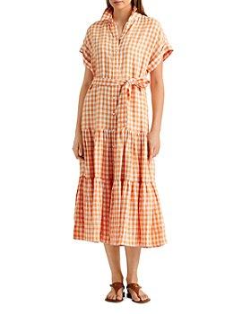 Ralph Lauren - Gingham Linen Shirt Dress