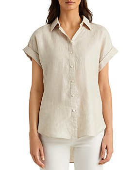 Ralph Lauren - Metallic Linen Shirt