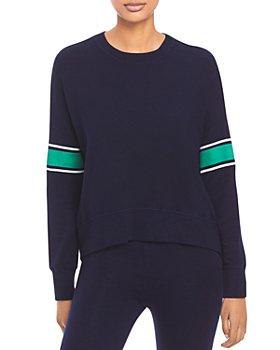 Sundry - Varsity Stripe Sweatshirt