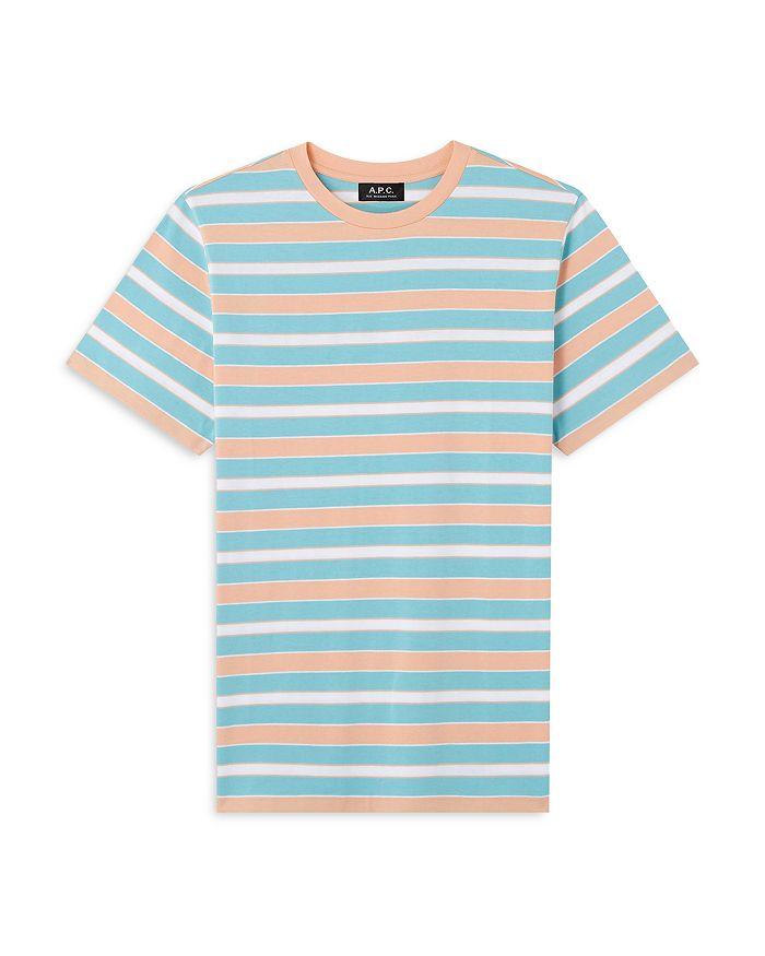 A.P.C. T-shirts GIO STRIPED TEE