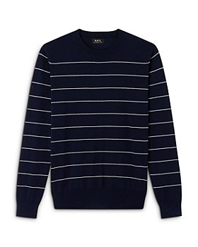 A.P.C. - Terence Striped Crewneck Sweater