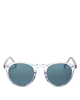 Oliver Peoples - Unisex Gregory Peck Round Sunglasses, 50mm
