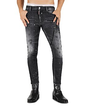 DSQUARED2 - Icon Talent Skater Slim Fit Jeans in Black