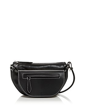 Burberry - Mini Double Olympia Leather Shoulder Bag