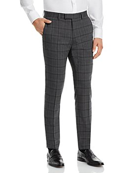 HUGO - Heiron Plaid Extra Slim Fit Suit Pants