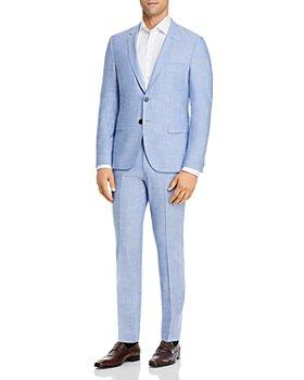HUGO - Arti & Hesten Melange Solid Extra Slim Fit Suit Separates