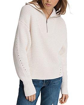 rag & bone - Lena Half Zip Sweater