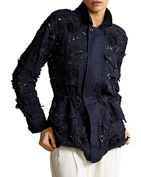 Ralph Lauren - Embellished Shirt Jacket
