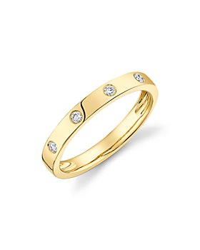 Moon & Meadow - 14K Yellow Gold Diamond Ring - 100% Exclusive