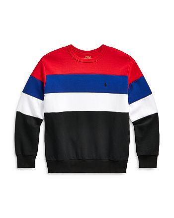 Ralph Lauren - Boys' Color Block Sweatshirt - Little Kid, Big Kid