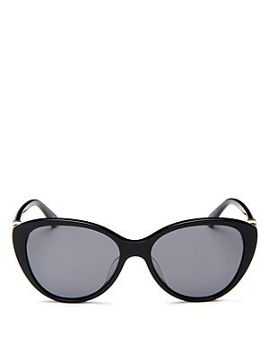 Kate Spade New York Women's Cat Eye Sunglasses, 55mm In Multi