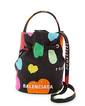 Balenciaga - XS Wheel Drawstring Bucket Bag