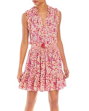 Poupette St Barth Mini dresses TRINY PRINTED MINI DRESS
