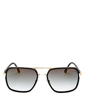 Carrera - Men's Brow Bar Square Sunglasses, 58mm