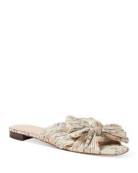 Loeffler Randall - Women's Daphne Pleated Slide Sandals