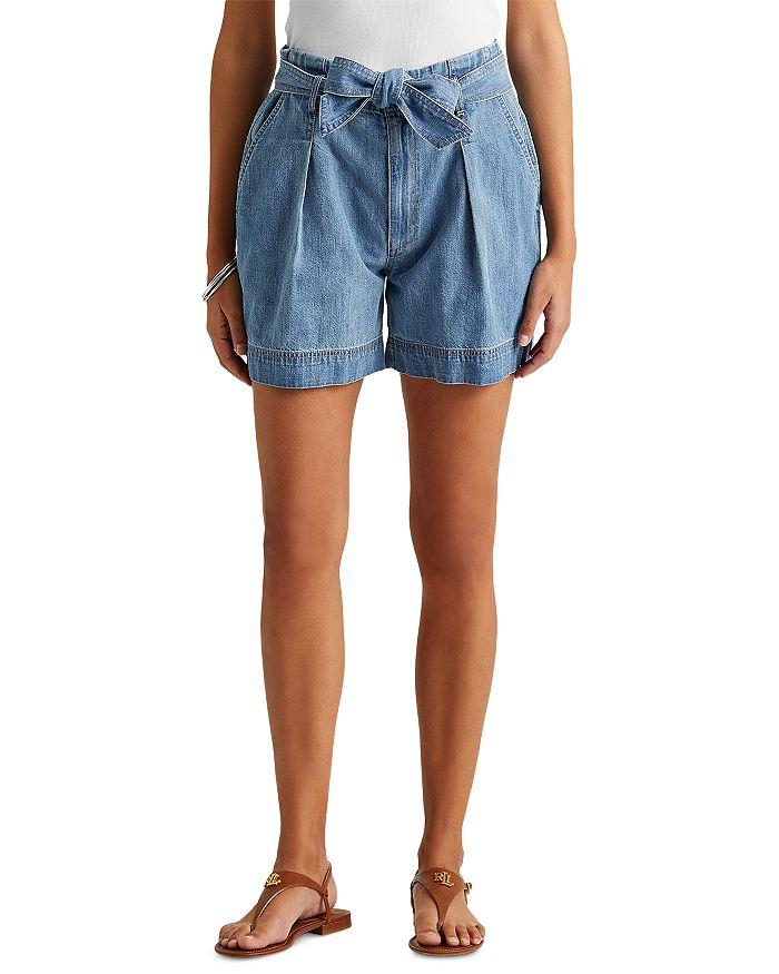 Ralph Lauren - Paperbag Waist Denim Shorts