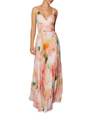 Laundry By Shelli Segal LAUNDRY BY SHELLI SEGAL PLEATED GOWN