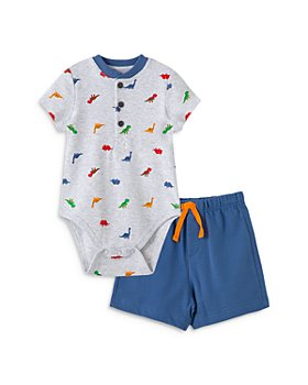 Little Me - Boys' Dino Bodysuit & Shorts Set - Baby