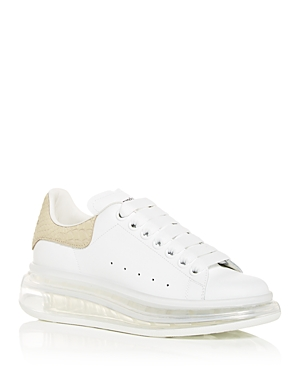 Alexander Mcqueen ALEXANDER MCQUEEN WOMEN'S OVERSIZED LOW TOP SNEAKERS