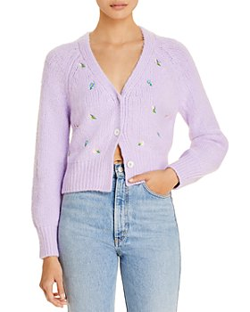 English Factory - Embroidered Knit Cardigan