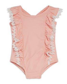 Miniclasix - Girls' Ruffled One-Piece Swimsuit - Baby