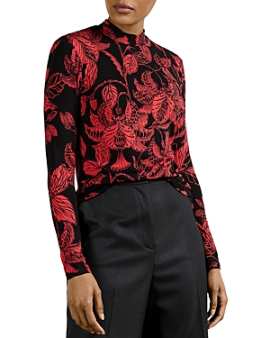 Ted Baker ROCOCO PRINTED FITTE