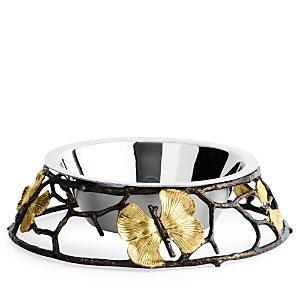 Michael Aram Butterfly Ginkgo Large Dog Bowl