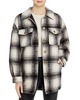Apparis - Debra Plaid Shirt Jacket
