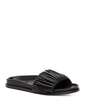 Aquatalia - Women's Iva Ruched Slide Sandals