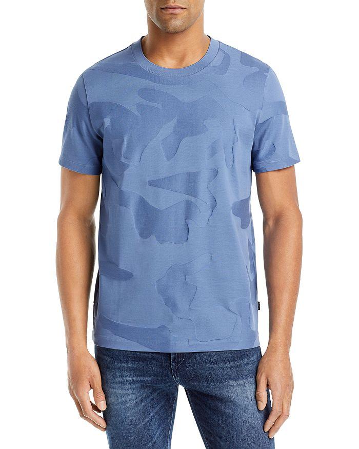 Hugo Boss T-shirts TIBURT CAMOUFLAGE TEE