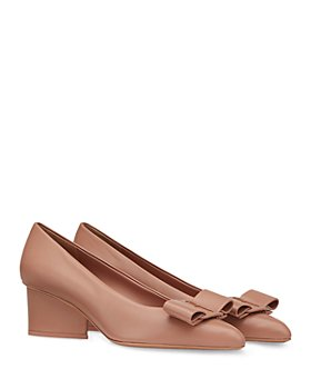 Salvatore Ferragamo - Women's Embellished Pointed Toe High Heel Pumps