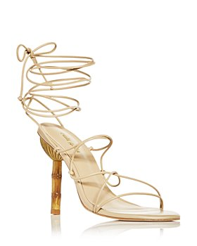 Cult Gaia - Women's Soleil Lace Up High Heel Sandals