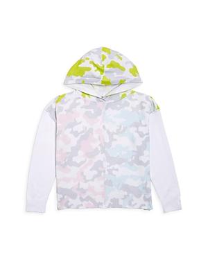 Aqua Girls' Camo Hooded Sweater - Big Kid - 100% Exclusive