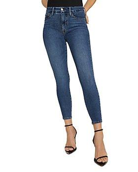 Good American - Good Legs Crop Jeans in Blue615