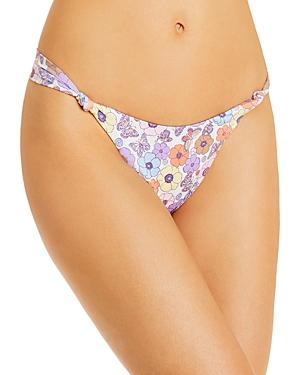 Frankies Bikinis Gabe Floral Bikini Bottom