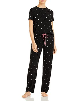 AQUA - Heart Print Pajama Set - 100% Exclusive