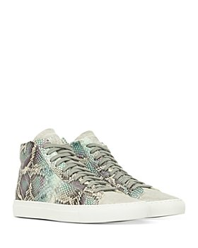 P448 - Women's Star High Top Sneakers