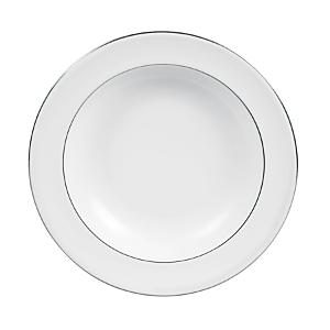 Vera Wang Wedgwood Blanc Sur Blanc Pasta Plate