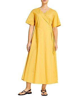 Marina Rinaldi - Dolomiti Flared Long Wrap Dress