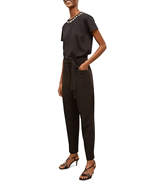Marlone Belted Tapered Leg Pants