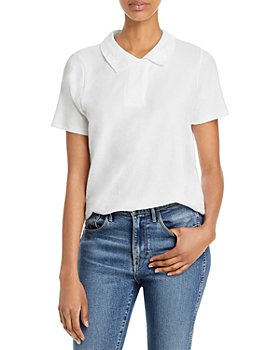 Goldie - Pointelle Polo Shirt