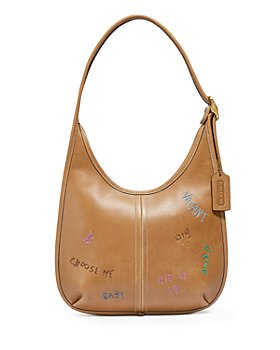 COACH - Ergo Small Embroidered Leather Shoulder Bag