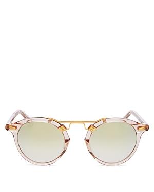 Women's St. Louis 24K Round Sunglasses