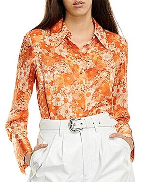 The Kooples Classic Floral Print Shirt