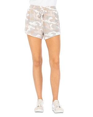 Cozy Printed Drawstring Shorts